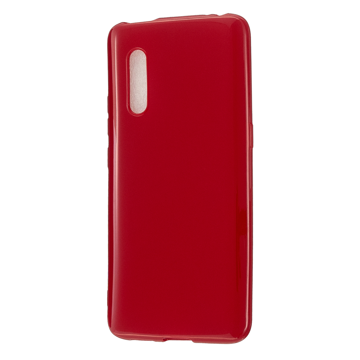 For VIVO X27 / VIVO X27 Pro Cellphone Cover Anti-scratch Dust-proof Soft TPU Phone Protective Case  Rose red