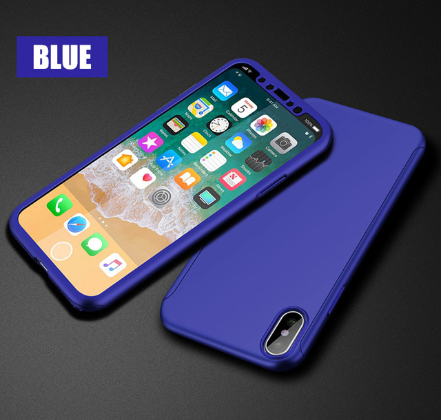 Fashion Modern Ultra Thin Scrub Back Cover Non-slip Anti-scratch Protective Case for iPhone X