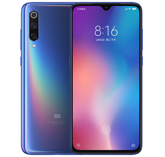 Xiaomi Mi 9 6+64G Fashion Smartphone Blue
