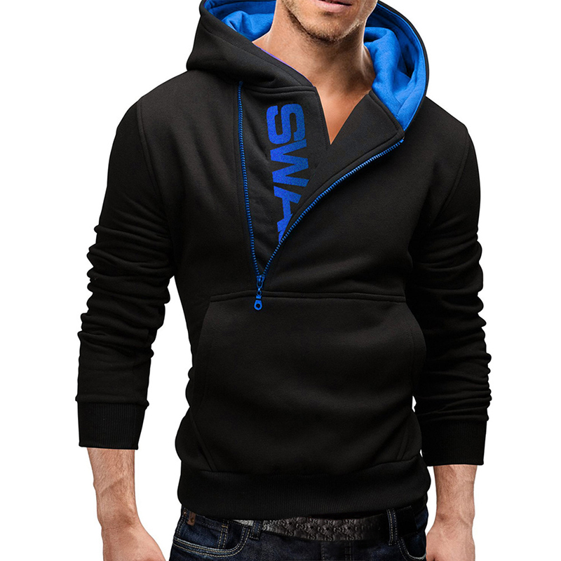 Men Hooded Pullover Top