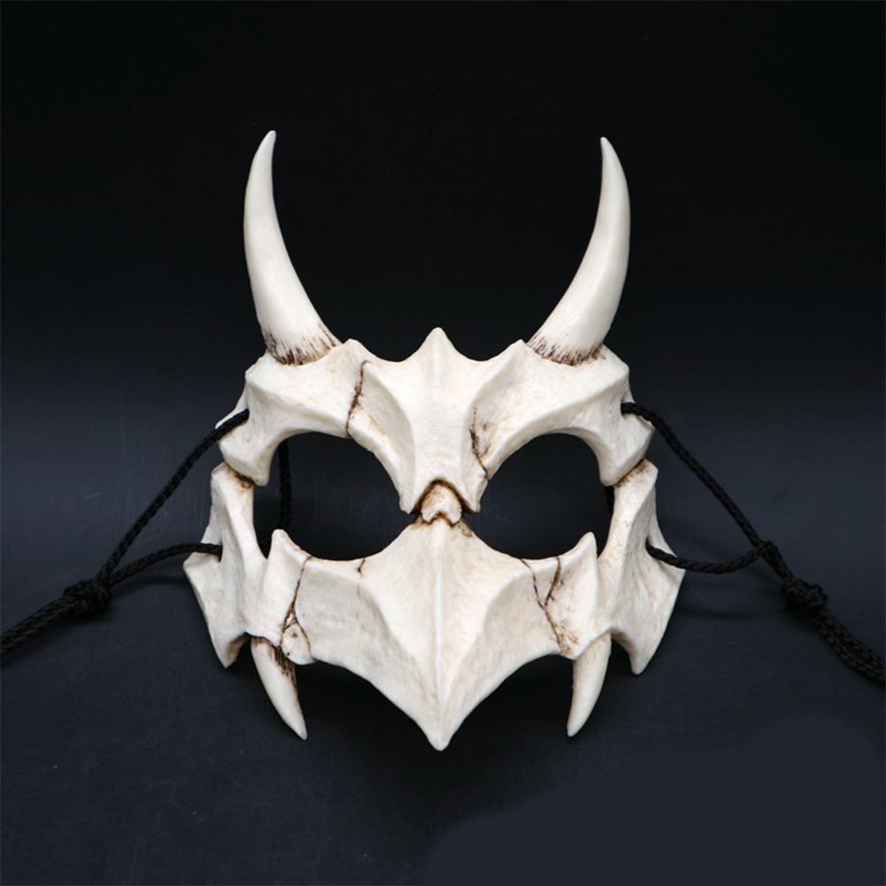 Japanese Gods Style Deluxe Resin Ninja Mask Prom Performance Art Mask Japanese legends Yasha