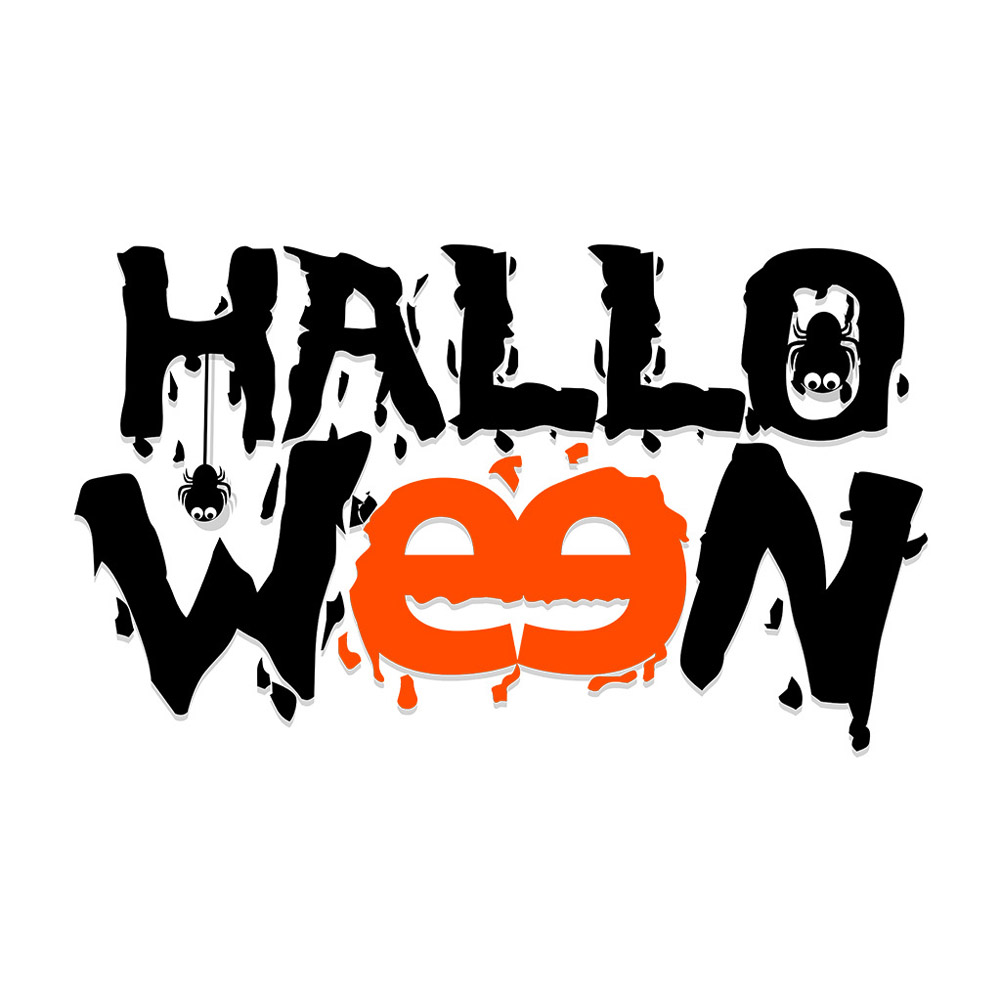 Wall Sticker Halloween Party Decal Wallpaper for Home Living Room Decoration AFH2099