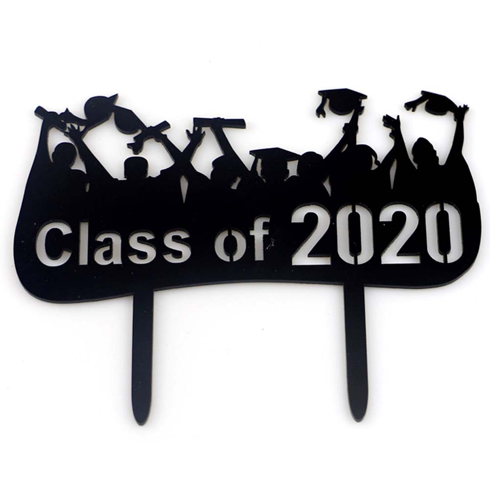 Graduation Cake Topper Decorations Cake Packing Card Party Decorations Supplies JM01882