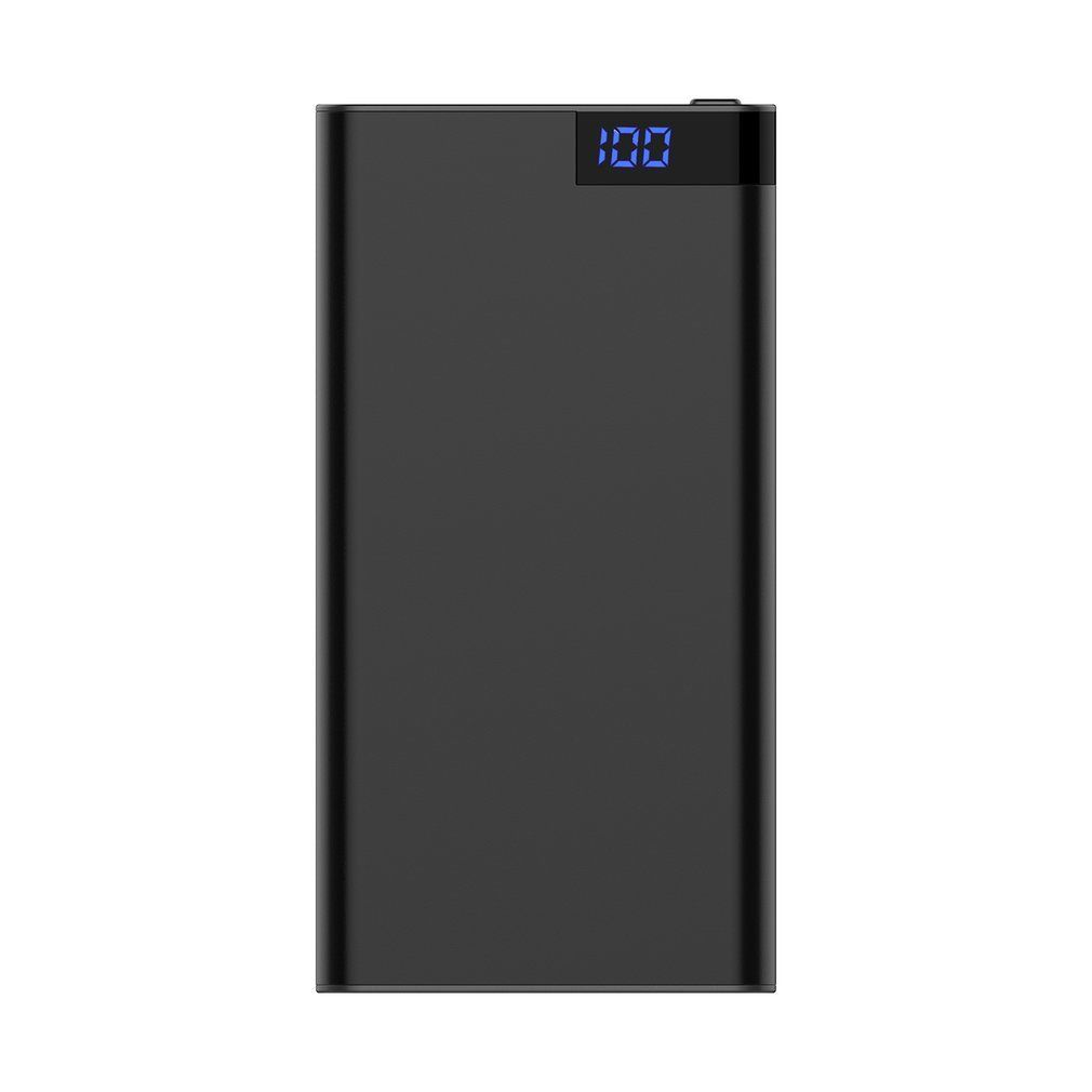 Mini Portable 4K WIFI Mobile Power Network Camera Home Security Camera black