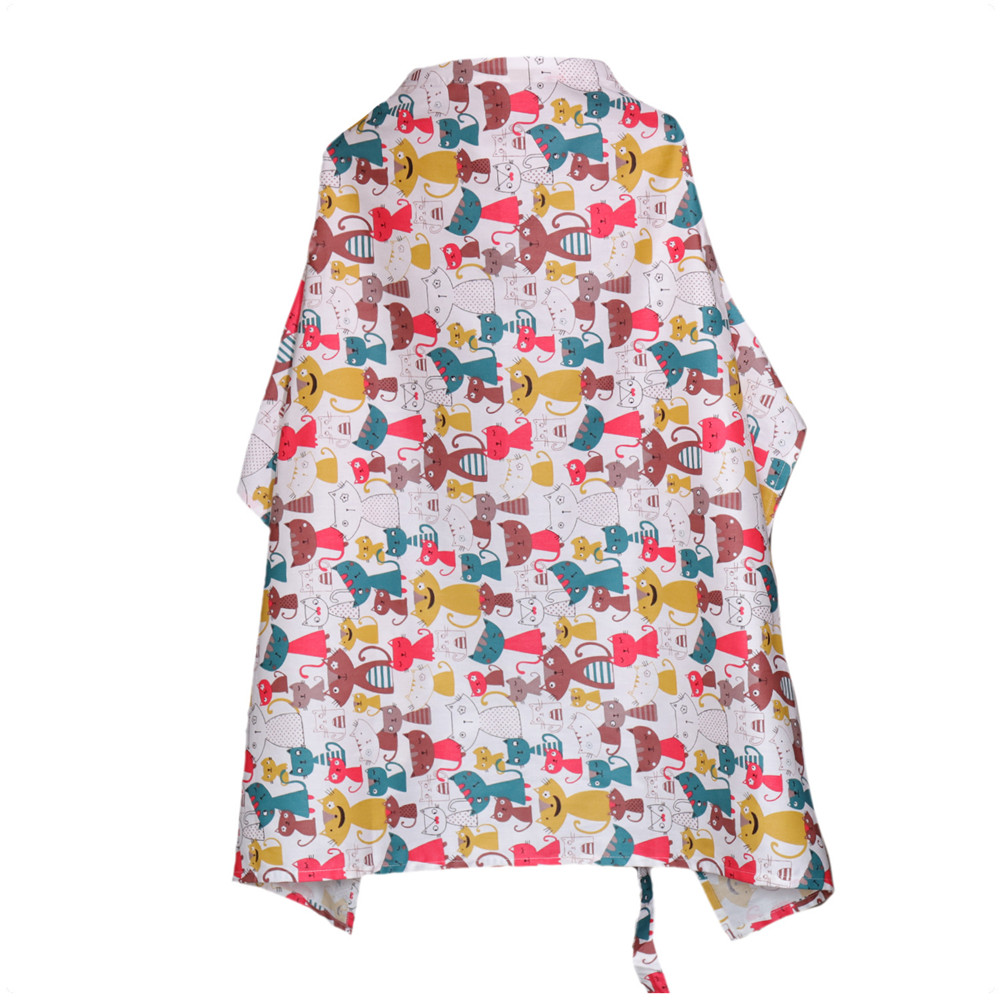Women Cotton Breastfeeding Cover Multi-functional Cover for Outdoor  D