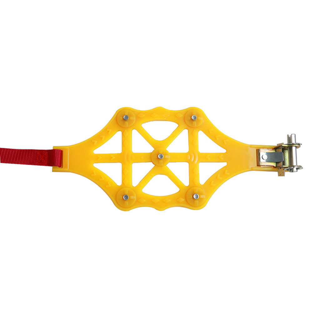 Winter Anti-skid Chains for Car Snow Mud Wheel Thickened Tire Tendon Universal Yellow 5981