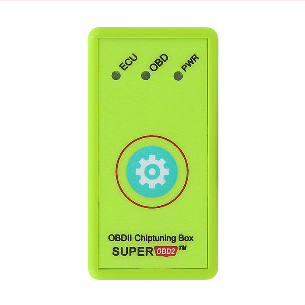 Nitro/ECO OBD2 Plug and Drive OBDII Performance Chip Tuning Box for Benzine Cars(Green) green