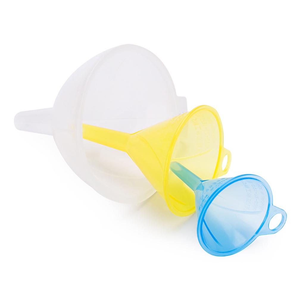 3pcs Plastic Large Caliber Funnel Large and Small Suits 3pcs