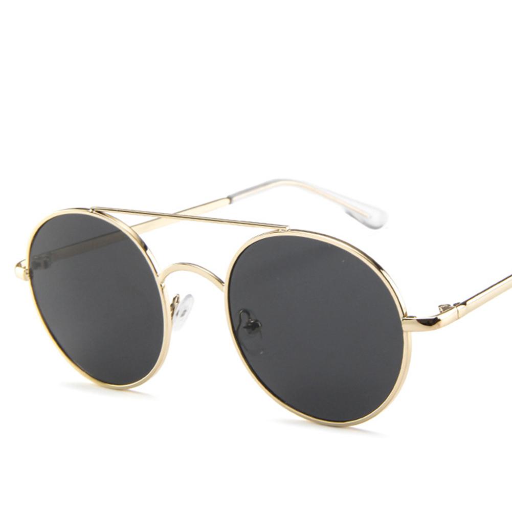 Fashion Retro Metal Round Frame Outdoor Sports Sunglasses GD006-52-23