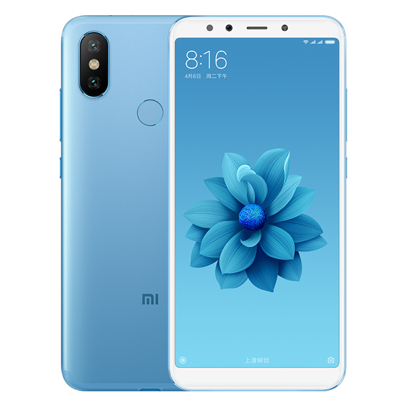 Xiaomi 6X Android phone 4+64GB(Blue)