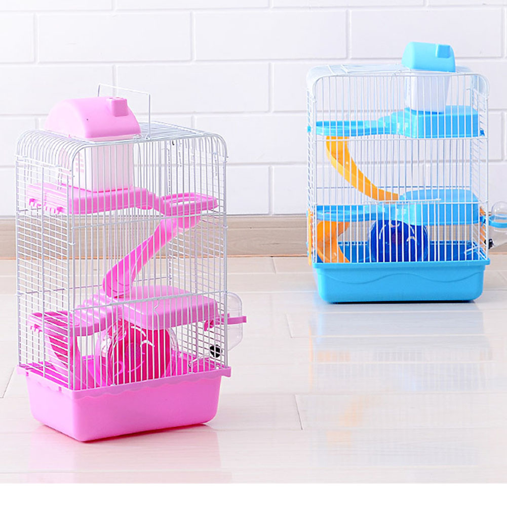 3-storey Pet Hamster Cage Luxury House