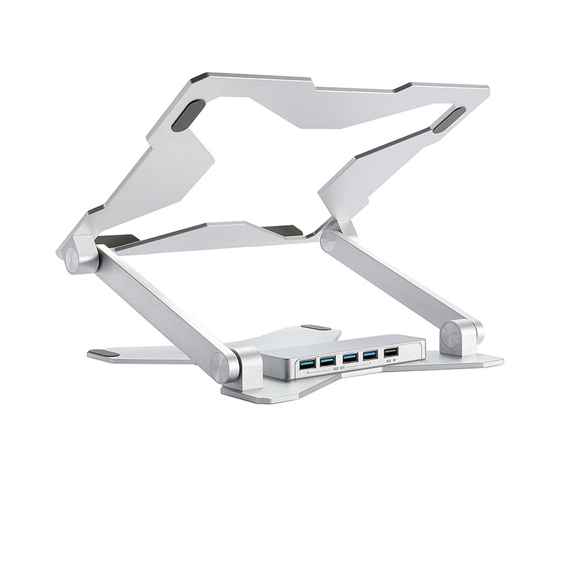 Laptop Computer Increased Bracket Lifting Folding Pc Notebook Stand D50-3