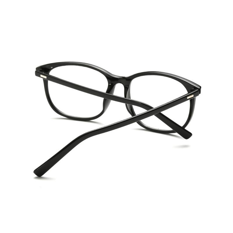 [US Direct] Cyxus Anti Blue Light Computer Glasses for Blocking UV Eye Strain Headache, Reading Eyewear (8065T01, Bright Black) Block Droplets Black - Bright_M