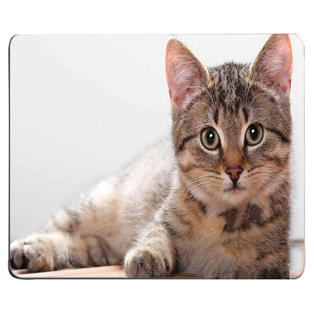 Cute Cat Pattern Printing Anti-Slip Mouse Pad