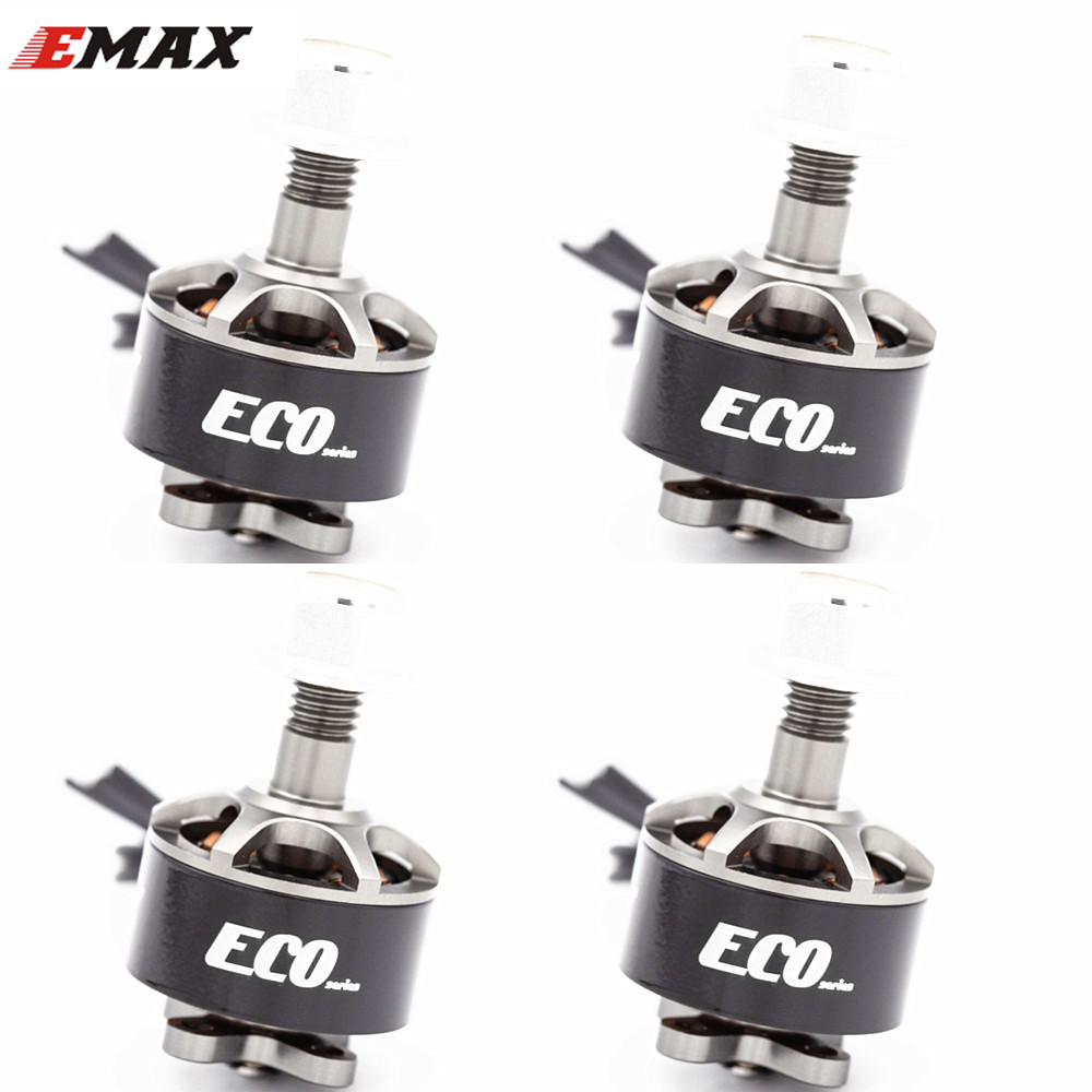4PCS EMAX ECO Micro Series 1407 2~4S 2800KV 3300KV 4100KV Brushless Motor For FPV Racing RC Drone Quadcopter Parts 3300KV KSX3833X4