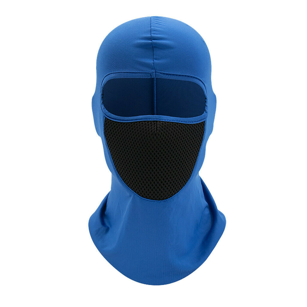 Outdoor Ski caps bike Motorcycle Cycling Balaclava Full Face Mask Neck  YS-E-06 Royal Blue_One size