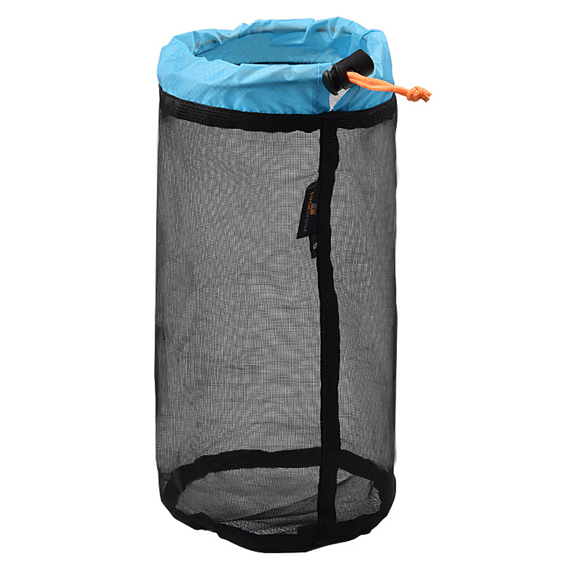 Outdoor Camping Hammock Sleeping Bag Compression Bag Waterproof Stuff Bag Hammock Storage Pouch Blue black S