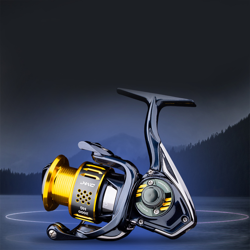 Spinning Seawater Fishing Reel 6.0:1/7.2:1/10BB CNC Handle EVA Grip Graphite Body Sea Fishing Reel 3000HG (6.0 speed ratio)