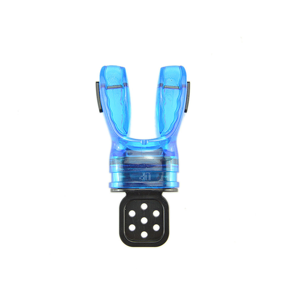 Fabricable Thermoplastic Mouthpiece Snorkeling Gear For Adult Second Stage Regulator Diving Surfing Accessories blue_Free  size