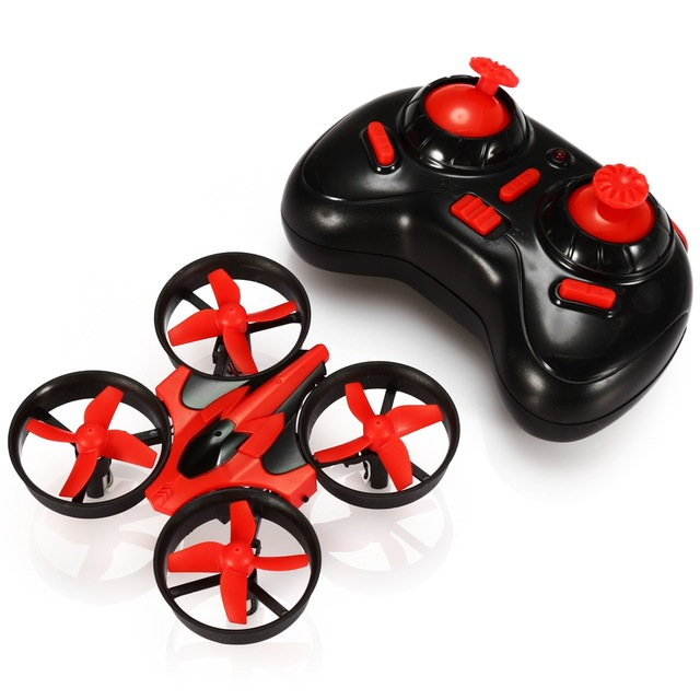 NIHUI NH-010 RC Drones 2.4G 6CH 6 Axis Gyro Mini RC Quadcopter 360 Degree Flip Helicopter One Key Return with LED Light 3 battery