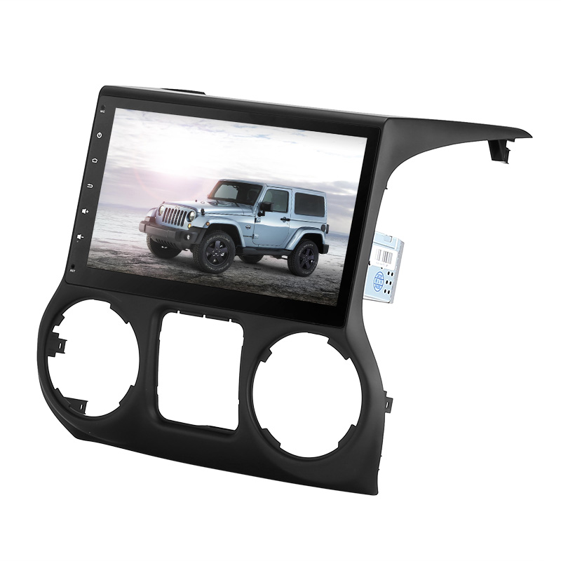 Купить со скидкой One DIN Android Media Player - For Jeep Wrangler, 10.2 Inch, Google Play, CAN BUS, Android 6, Octa-C