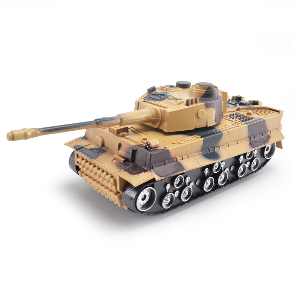 Inertial Simulation Battle Tank Toys with Flashing and Sound 1:32 Scale Military Tank Model Pull Back Toy for Kids