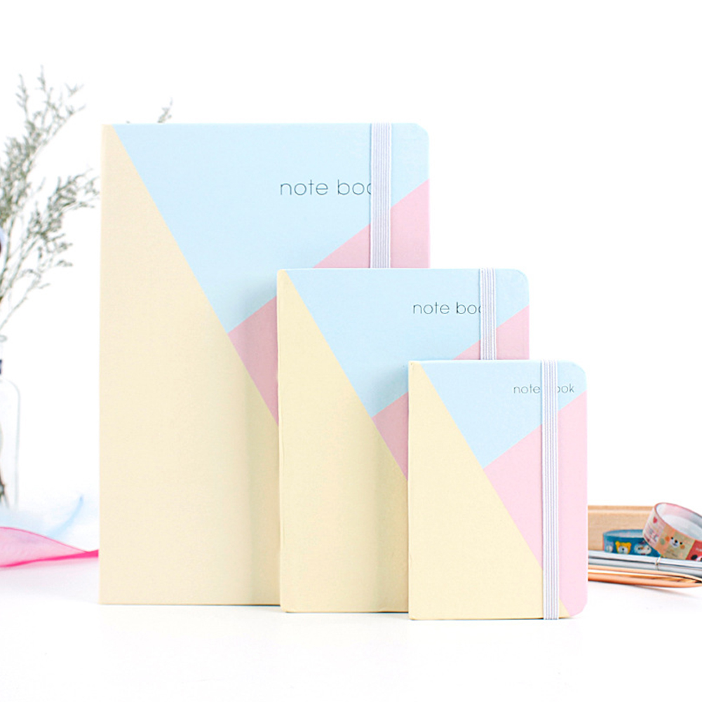 Concise Fashion Bandage Vivid Color Portable Notepad (Random Color) A5: 21.5*14.5cm