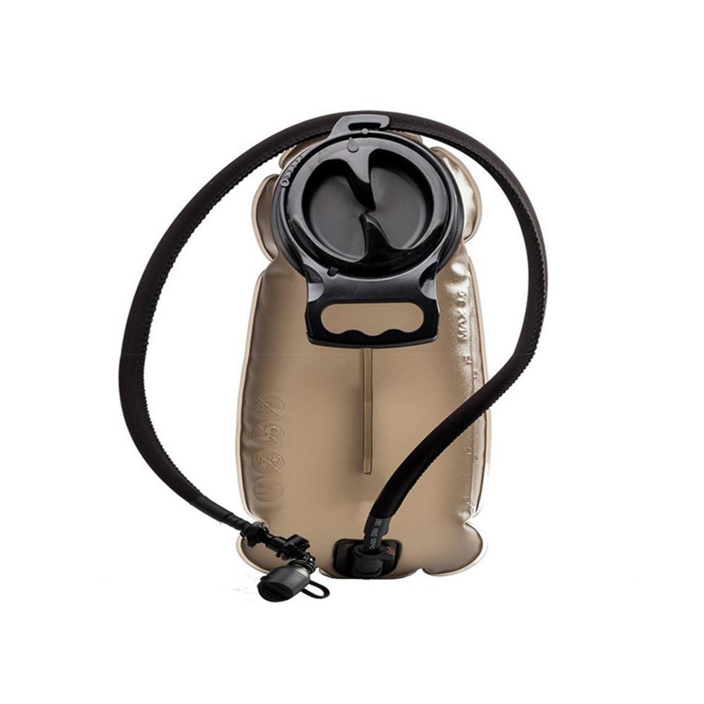 Outdoor Sports Water Bag TPU Material 2L Bag Foldable Durable Liner Riding Water Sac dark brown