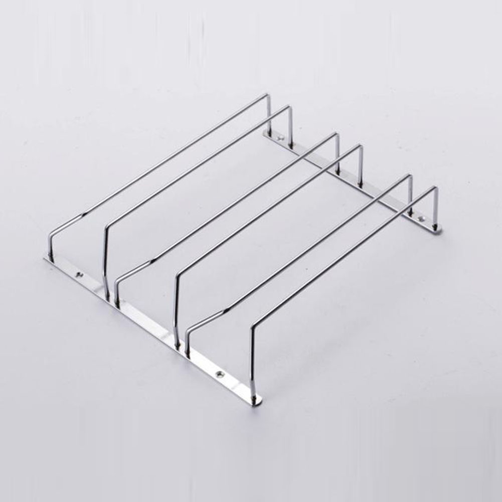 1 Pc 1-5 Rows Stainless Steel Wall Mount