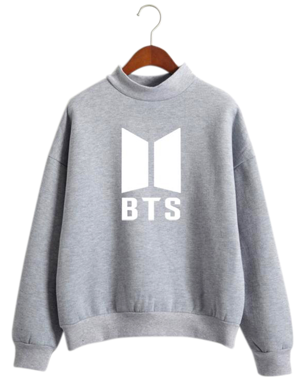 Unisex BTS Letters Printing Sweater