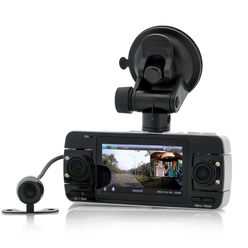 wholesale dual camera dashcam parking camera from china. Black Bedroom Furniture Sets. Home Design Ideas