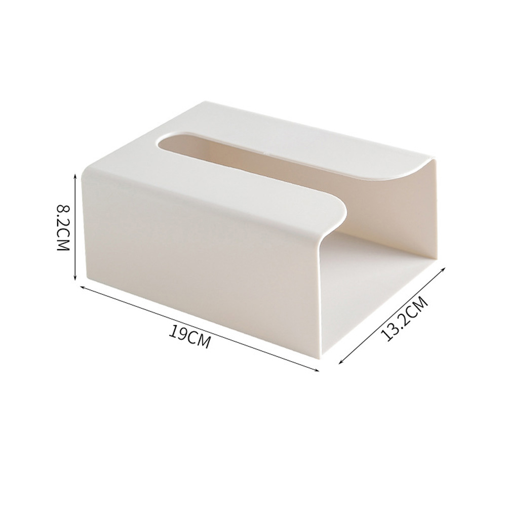 Tissue Box Paper Towel Holder Storage Box Tissue Napkin Container gray