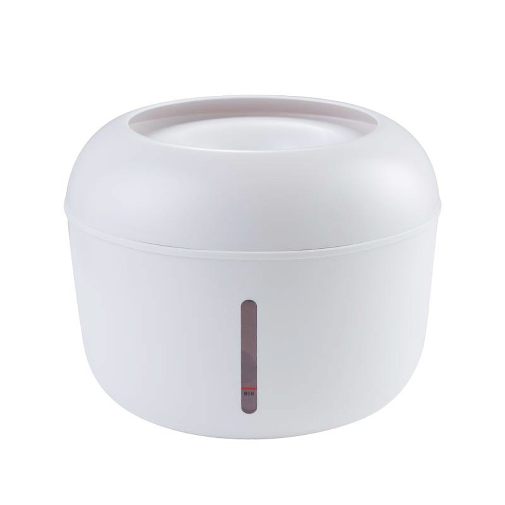 Pet Water Dispenser Circulating Water Source Spring Type Non-wet Mouth Water Basin Cat and Dog Bowl white