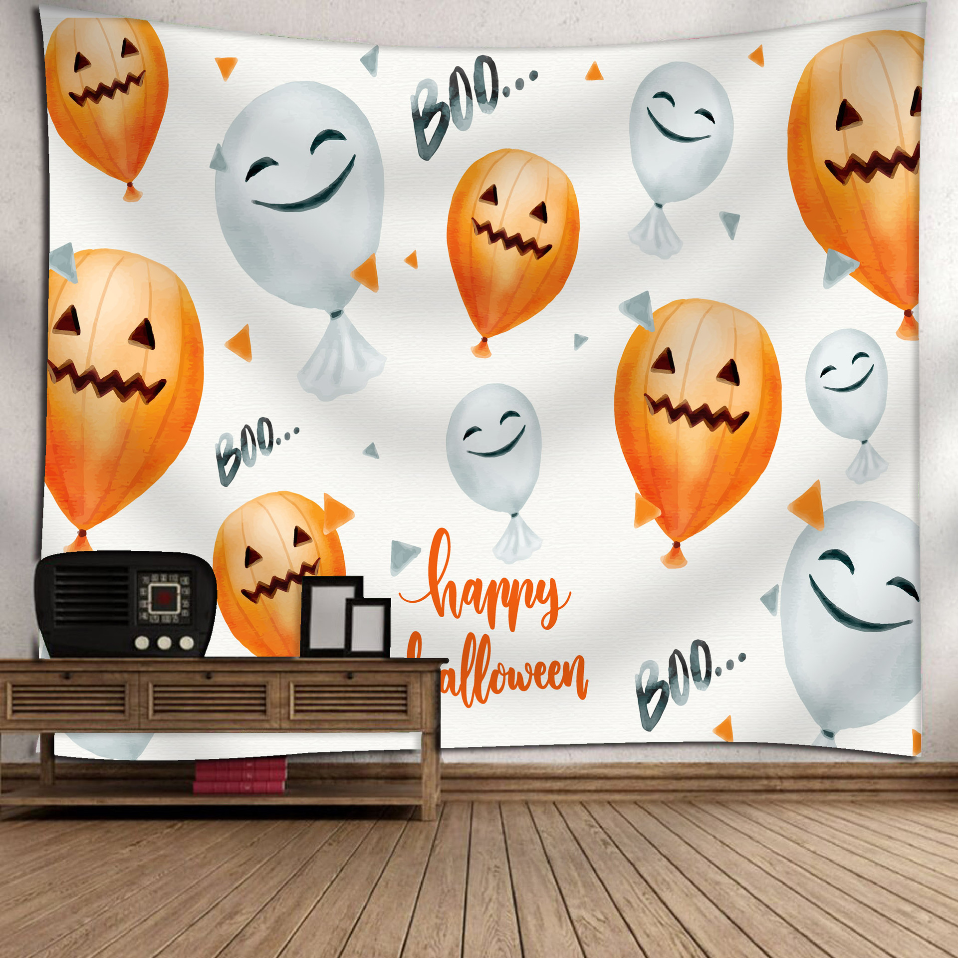 Fashion Halloween Hanging Home Tapestry Wall Decoration 13_150*130