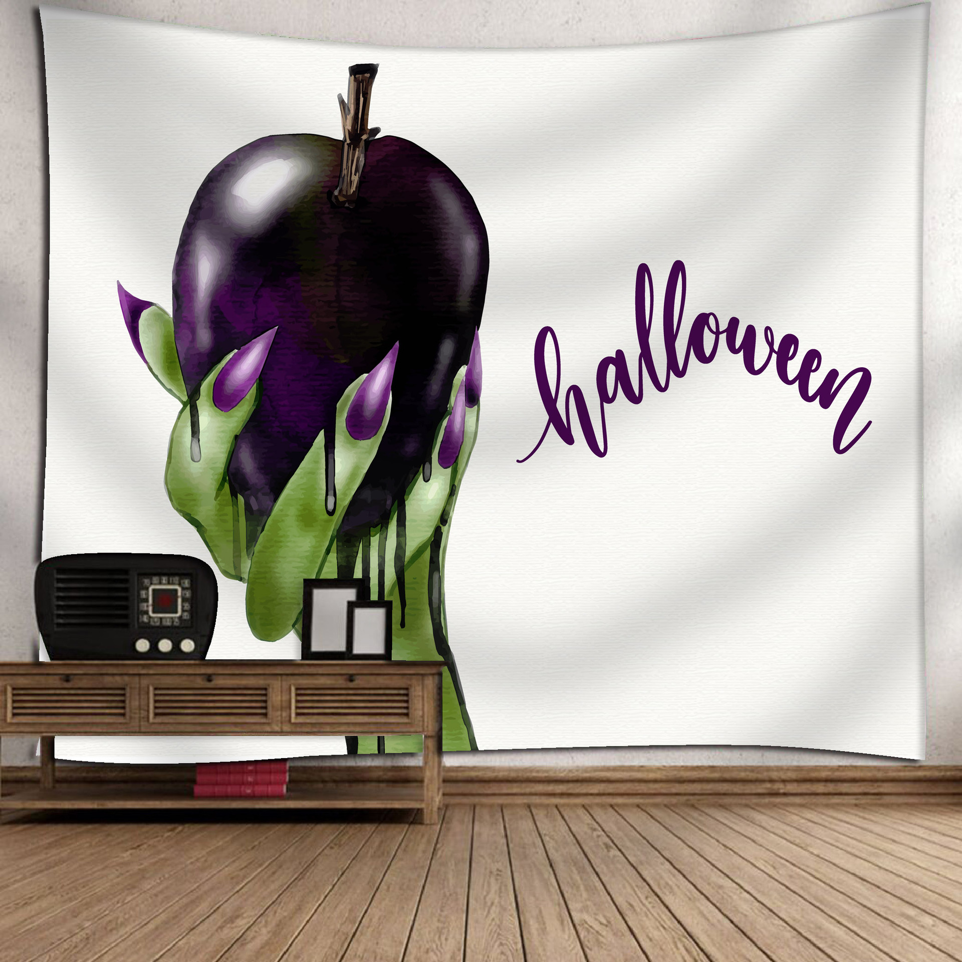 Fashion Halloween Hanging Home Tapestry Wall Decoration 12_150*130
