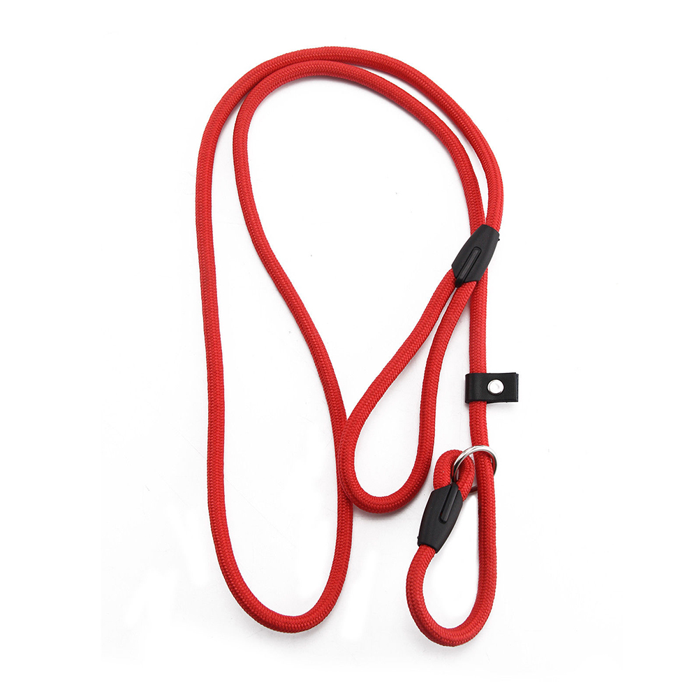 Nylon Dog Leash Dog Traction Belt Pet Harness Straps Pet Supplies red_0.6*130CM