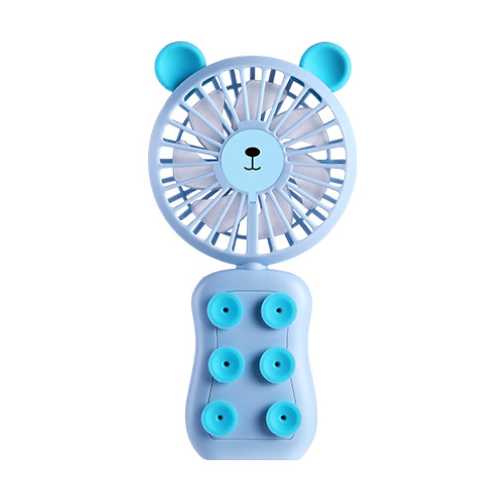 Portable USB Rechargeable Fan Blue