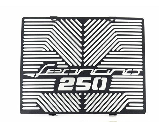 For Benelli Cub 250 Motorcycle Radiator Cover Radiator Grille Protection Cover Replacement Black