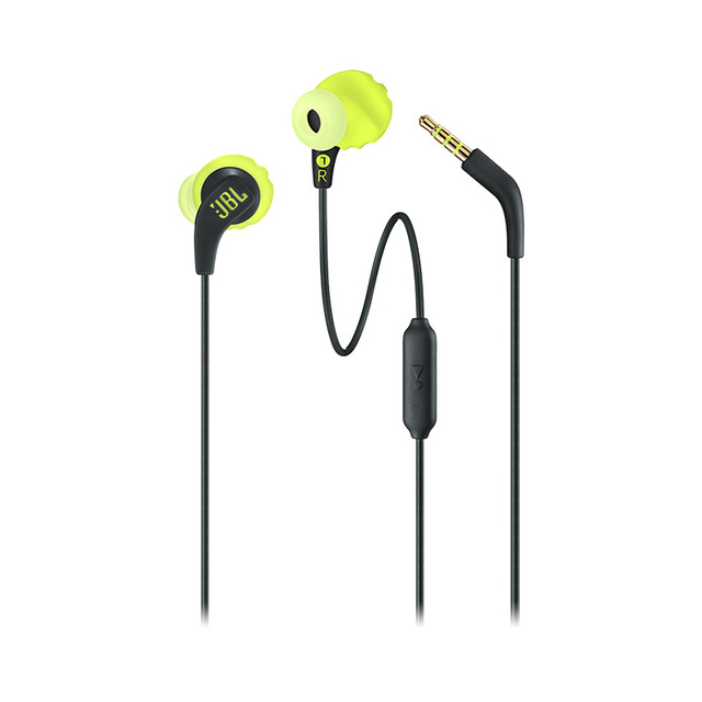 Bluetooth Earphone JBL ENDURANCE Run BT Wireless Bluetooth Earphones Sports Headphones IPX5 Waterproof Headset Magnetic Earbuds with Microphone yellow