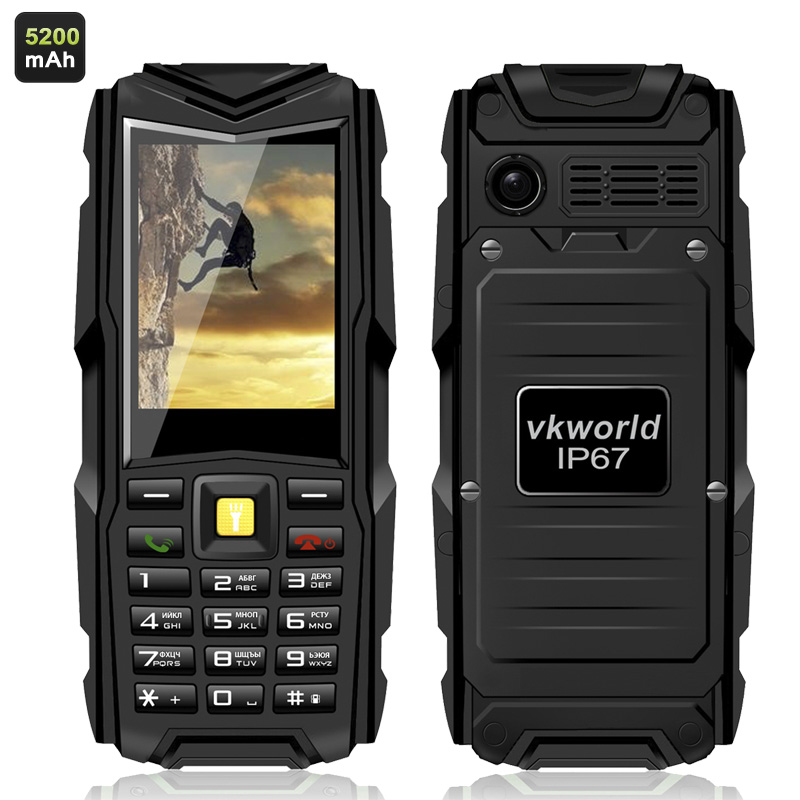 VKworld Stone V3 GSM Phone (Black)