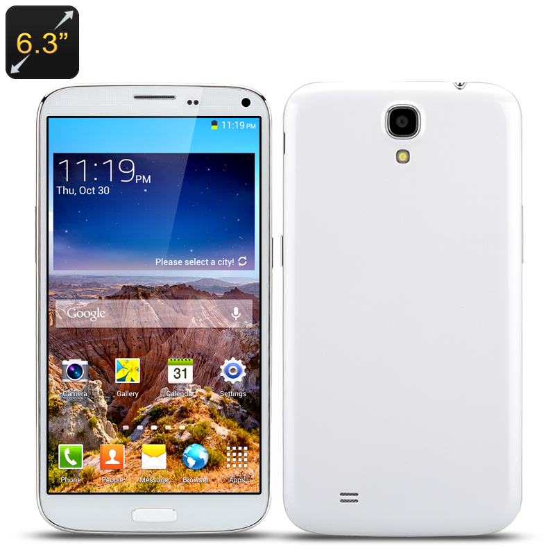 Octa Core Smart Phone 'Life C' (White)