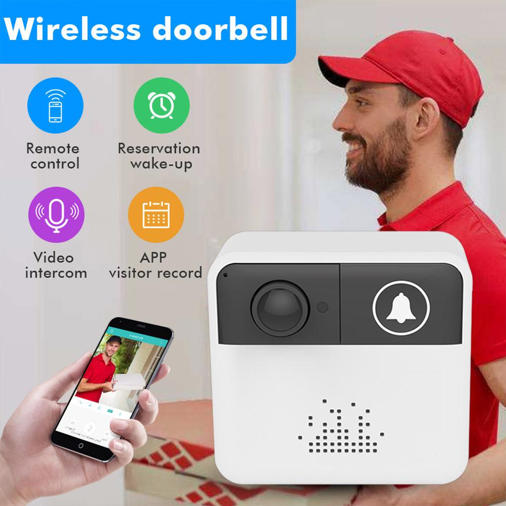 IP Video Intercom WI-FI Video Door Bell Camera Apartments Alarm Wireless Security Camera doorbell