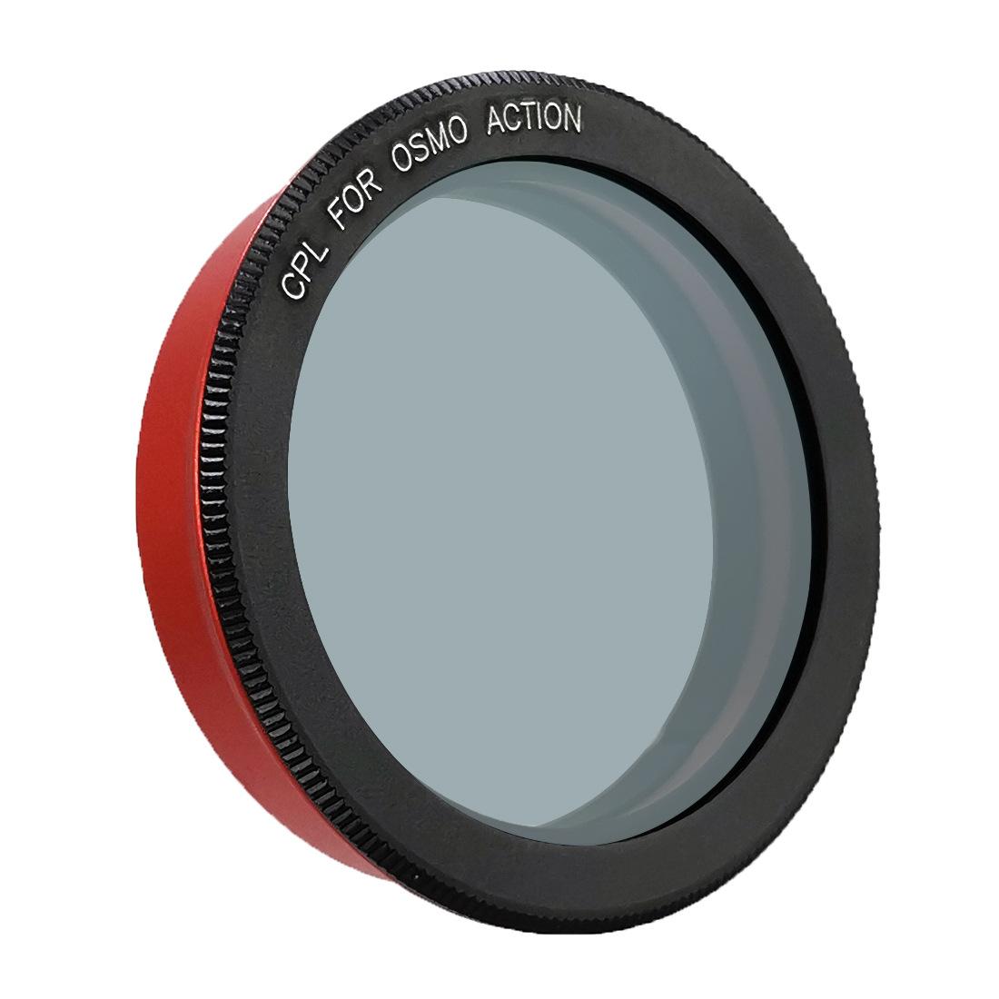 Camera Lens Filter for DJI Osmo Action Cameras UV CPL Lens High Light Transmittance Low Reflectance CPL lens filter