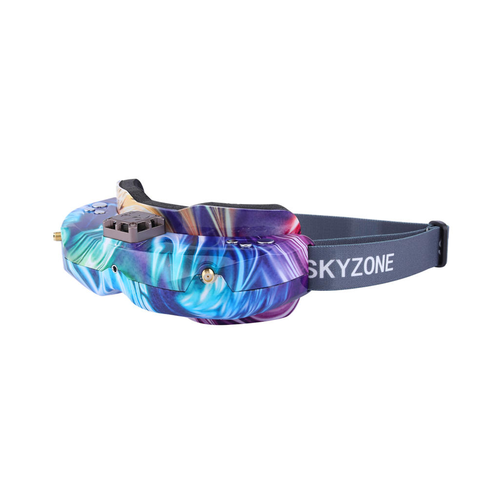 SKYZONE SKY02C 5.8Ghz 48CH Diversity FPV Goggles Support DVR HDMI With Head Tracker Fan for RC Racing Drone Camouflage