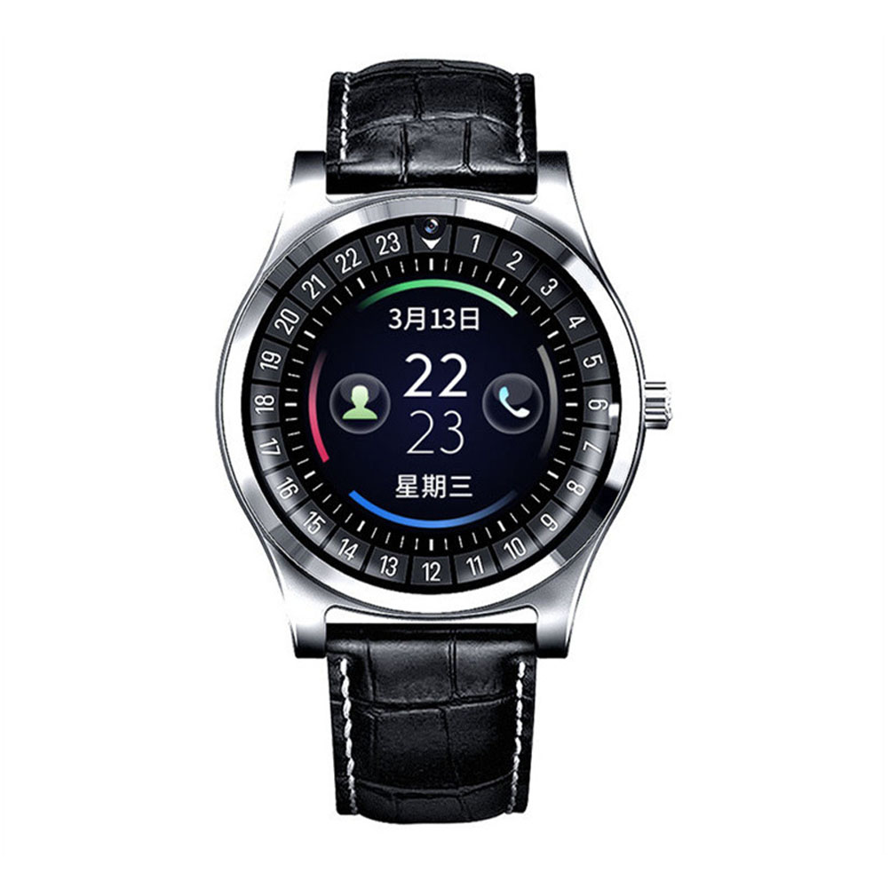 Smart Watch Fitness Tracker Men Women Wearable Devices Smart Band Heart Rate Monitor ECG Detection Smart Bracelet Silver