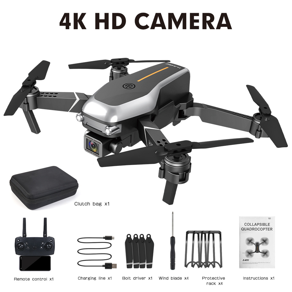 Hj95  Mini  Folding  Drone Fpv Four-axis Drone Wifi Real-time Transmission High-definition Aerial Drone With 4K-wifi camera