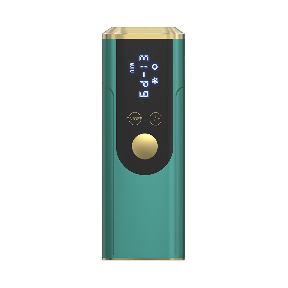 Freezing  Point  Hair  Depilator Multifunction Powerful Hair Removal Apparatus Compact Portable Hair Removal Tool Green_EU Plug
