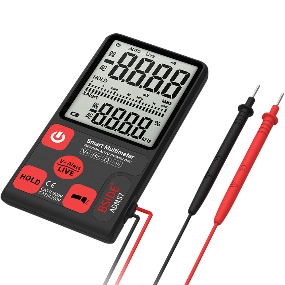 Portable Digital Display Voltmeter