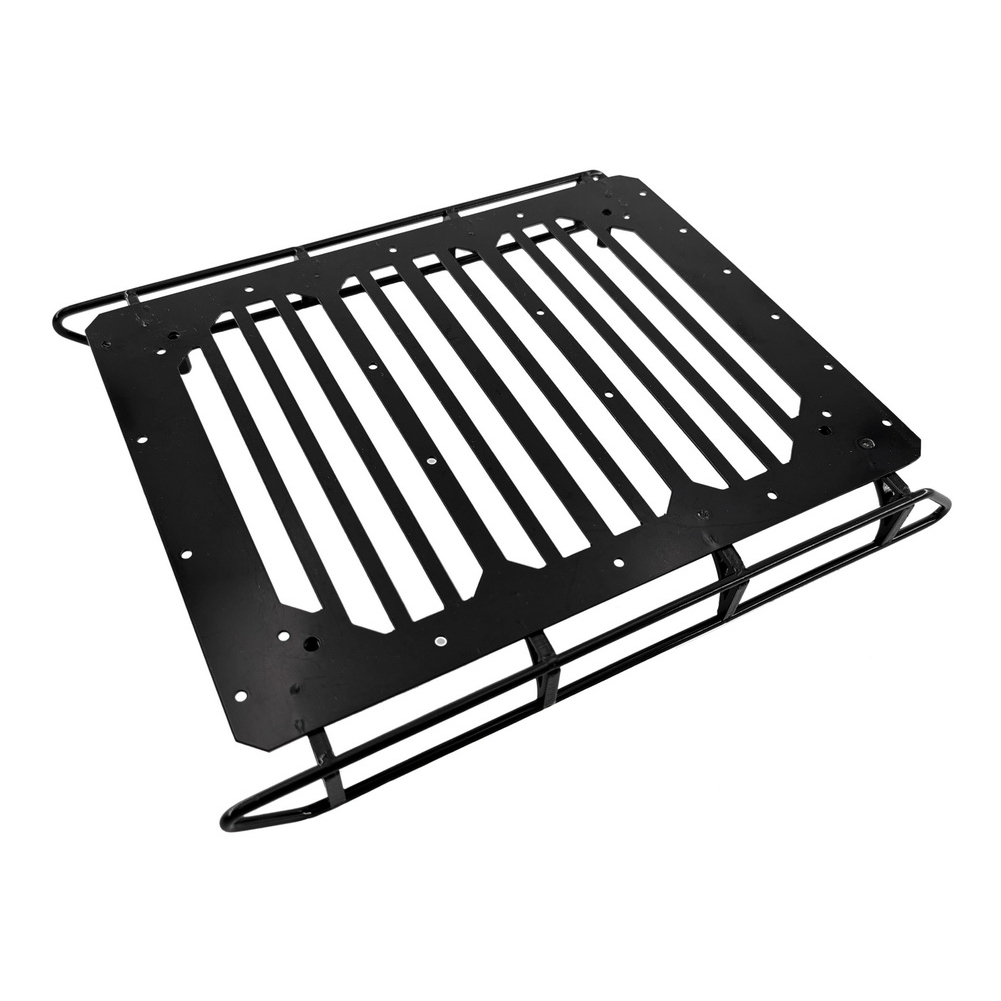 Metal Luggage Rack Roof Frame Spot Light with Anti-slip Pattern for Trx-6 G63 6x6 1/10 Rc Car Parts luggage rack