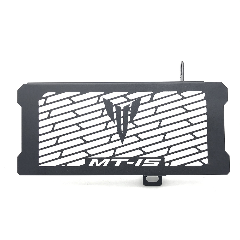 Motorcycle Radiator Cover Radiator Grille Guard Protection for YAMAHA MT15 MT-15  black